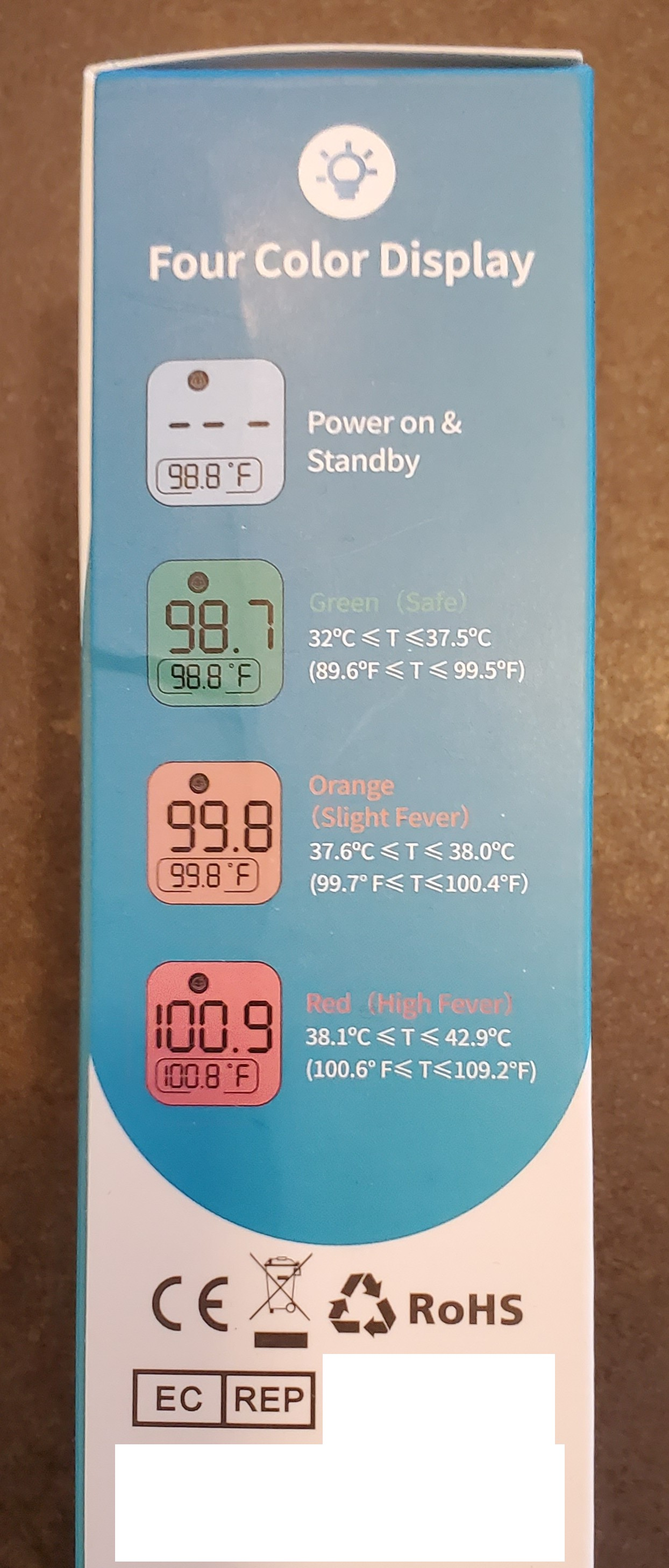 infrared thermometer features 1